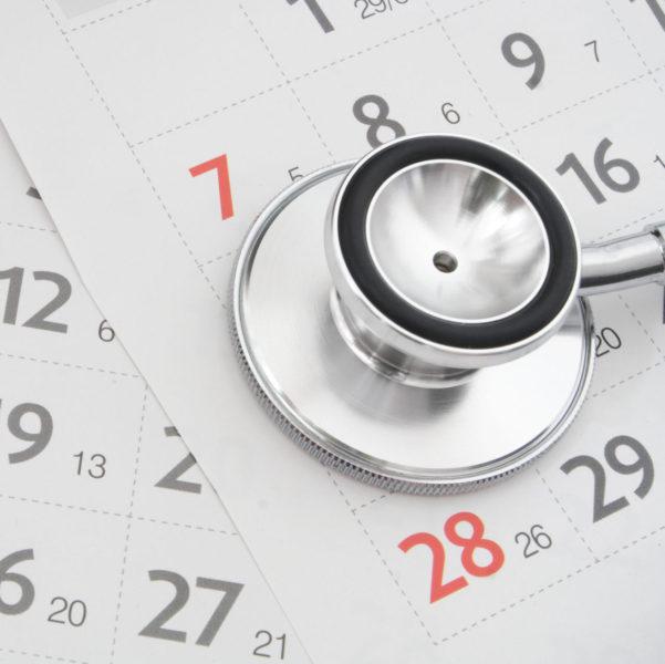 Regular medical examination concept